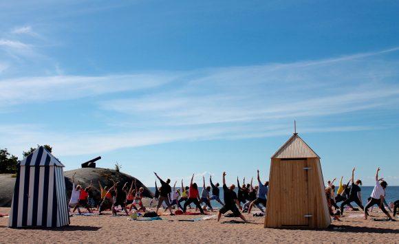 Espoo Haukilahti – Beachjoogaa alkaen 16.5.